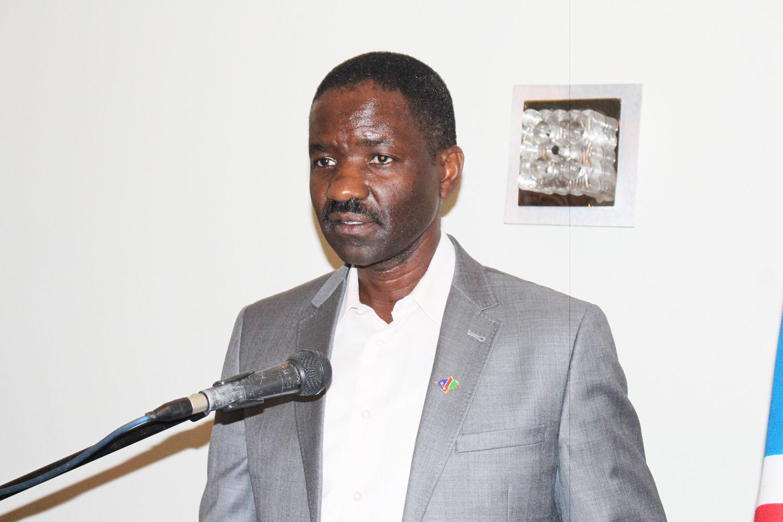 Health Minister Dr. Bernard Haufiku